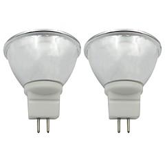 preiswerte LED-Birnen-2pcs 3.5 W 250-270 lm GU5.3 LED Spot Lampen 1 LED-Perlen COB Warmes Weiß / Kühles Weiß 220-240 V / 110-120 V