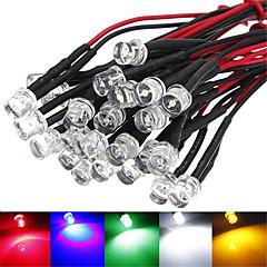 abordables Accesorios LED-5pcs Diodo LED Luminoso Aluminio Chip LED