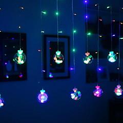 preiswerte LED Lichtstreifen-2,5 m Leuchtgirlanden 108 LEDs Mehrfarbig Dekorativ 220-240 V 1 set