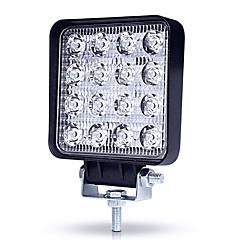 Недорогие Автомобильные фары-JIAWEN 1 шт. Нет Автомобиль Лампы 48 W Высокомощный LED 4800 lm 16 Светодиодная лампа Налобный фонарь / Рабочее освещение Назначение Универсальный Все года