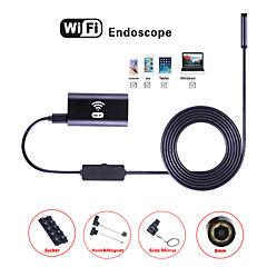 billiga Larm och säkerhet-wifi endoskop kamera 8mm lins 3,5m hård tråd vattentät inspektion borescope endoskop för ios android orm endoskopisk