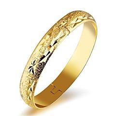 preiswerte Armbänder-Damen Klassisch Manschetten-Armbänder - 18K Gold Modisch Armbänder Gold Für Hochzeit Party