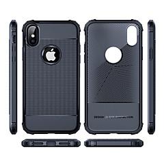 levne -Carcasă Pro Apple iPhone XS / iPhone XS Max Nárazuvzdorné Zadní kryt Jednobarevné Měkké TPU pro iPhone XS / iPhone XR / iPhone XS Max