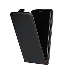 Недорогие Кейсы для iPhone-Кейс для Назначение Apple iPhone XR / iPhone XS Max со стендом / Флип Чехол Однотонный Твердый Настоящая кожа для iPhone XS / iPhone XR / iPhone XS Max