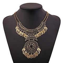 abordables Collares-Mujer Collar - Vintage Dorado, Plata 46+5 cm Gargantillas Joyas 1pc Para Festival