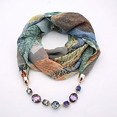preiswerte Halsketten-Damen Lang Schal Halskette - Einfach, Einzigartiges Design, Böhmische Niedlich Grau, Blau, Wein 180 cm Modische Halsketten Schmuck 1pc Für Verabredung, Strasse