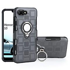 hesapli Huawei İçin Kılıflar / Kapaklar-Pouzdro Uyumluluk Huawei P smart / Honor 10 Şoka Dayanıklı / Yüzüklü Tutacak Arka Kapak Zırh Yumuşak TPU için P smart / Huawei Honor 10 / Huawei Enjoy 7S