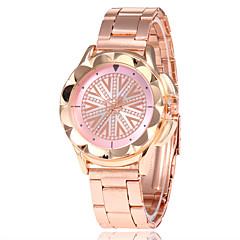 preiswerte Damenuhren-Damen Kleideruhr Armbanduhr Quartz Armbanduhren für den Alltag Legierung Band Analog Modisch Elegant Rotgold - Rot Blau Rosa