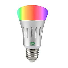 お買い得  LED 電球-YWXLIGHT® 1個 7 W 600 lm LEDスマート電球 A60(A19) 22 LEDビーズ SMD 2835 RGB / ホワイト 85-265 V / 1個
