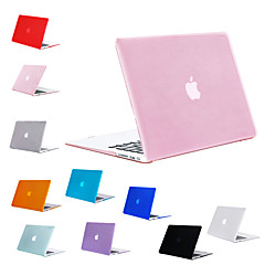 "billige -MacBook Etui Ensfarvet PVC for MacBook Pro 13-tommer / Ny MacBook Pro 13"" / New MacBook Air 13"" 2018"