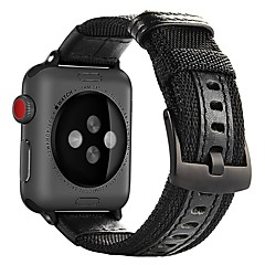 cheap Apple Watch Accessories-Watch Band for Apple Watch Series 4/3/2/1 Apple Classic Buckle Nylon Wrist Strap