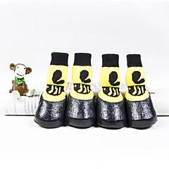 お買い得  犬用ウェア&アクセサリー-猫用 / 犬 シューズ、ブーツ カジュアル/普段着 / 防水 カートゥン イエロー ペット用