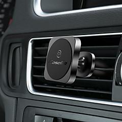 abordables Nouveaux Arrivages-CaseMe Automatique Support de support Grille de sortie d'air Type magnétique / Ajustable / Rotation 360 ° Aluminium / Silicone / Métal Titulaire