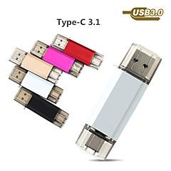 お買い得  USBメモリー-Ants 16GB USBフラッシュドライブ USBディスク USB 3.0 / タイプC 金属シェル 不規則型 カバー