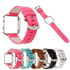 cheap New Arrivals-Watch Band for Fitbit Blaze Fitbit Classic Buckle Genuine Leather Wrist Strap