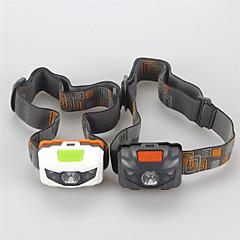 お買い得  ヘッドランプ-ヘッドランプ LED LED 3 エミッタ 500 lm 4.0 照明モード ミリタリー, 防水, 耐衝撃性 キャンプ / ハイキング / ケイビング, 日常使用, サイクリング ホワイト / ブラック