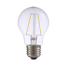 お買い得  LED 電球-GMY® 1個 2 W 200 lm E26 / E27 フィラメントタイプLED電球 A17 2 LEDビーズ COB 装飾用 温白色 120 V