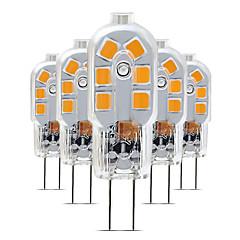 preiswerte LED-Birnen-5 Stück 3 W 200-300 lm G4 LED Doppel-Pin Leuchten T 12 LED-Perlen SMD 2835 lieblich 220-240 V
