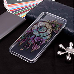 Недорогие Кейсы для iPhone X-Кейс для Назначение Apple iPhone XR / iPhone XS Max С узором / Сияние и блеск Кейс на заднюю панель Ловец снов Мягкий ТПУ для iPhone XS / iPhone XR / iPhone XS Max