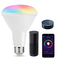 お買い得  LED 電球-KWB 1セット 10 W 1000 lm E26 / E27 LEDスマート電球 R80 22 LEDビーズ SMD 5730 Smart / APPコントロール / 計時 RGBW 100-240 V