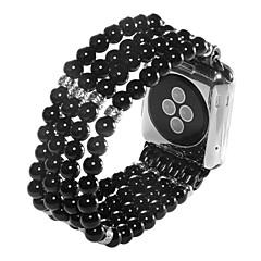 ieftine -Uita-Band pentru Apple Watch Series 5/4/3/2/1 Apple Design Bijuterie Ceramică Curea de Încheietură
