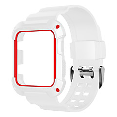 ieftine -ceas trupa pentru ceas de mere serie 3/2/1 bandă sport tricou de mână silicon
