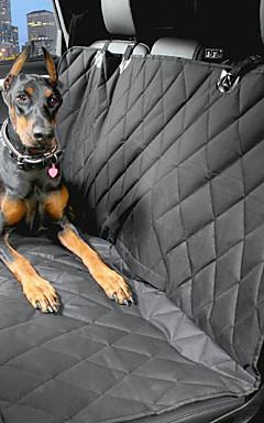 رخيصةأون -حيوانات أليفة كلب سيارة مقعد الغطاء حيوانات أليفة حاملات مقاوم للماء المحمول أسود / قماش أكسفورد / ضد الماء