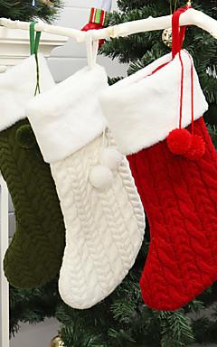 رخيصةأون -جوارب / عيد الميلاد / عيد الميلاد الحلي عيد الميلاد المجيد / عطلة / العائلة منسوجات كارتون / حزب / حداثة زينة عيد الميلاد