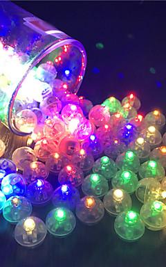 رخيصةأون -12 قطع التبديل بالون led فلاش مضيئة مصابيح بهلوان ضوء بار فانوس عيد عرس حزب زينة عيد ديكور