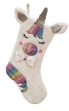 رخيصةأون -عطلة زينة ديكور عيد الميلاد المجيد جوارب عيد الميلاد الحيوانات / كارتون أبيض 1PC