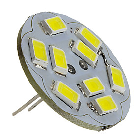 abordables Luces LED de Doble Pin-2 W Focos LED 6000 lm G4 9 Cuentas LED SMD 5730 Blanco Natural 12 V