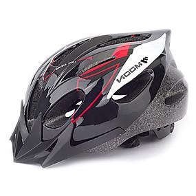ieftine Sport & Stil de Viață-MOON Adulți biciclete Casca 16 Găuri de Ventilaţie CE Rezistent la Impact Lumina Greutate Vizor detașabil PVC EPS Sport Bicicletă montană Ciclism stradal Ciclism / Bicicletă / Ventilație