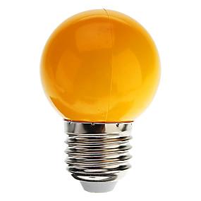 billige LED Lighting Engros-1pc 0.5 W LED-globepærer 30 lm E26 / E27 G45 7 LED Perler DIP LED Dekorativ Kold hvid Rød Blå 100-240 V / RoHs