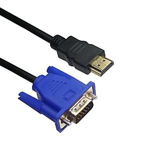 Χαμηλού Κόστους Αξεσουάρ Η/Υ & Tablet-LWM ™ premium HDMI αρσενικό σε VGA αρσενικό καλώδιο 10ft 3m για μετάδοση βίντεο υψηλής ποιότητας