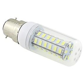 זול נורות תירס לד-3 W נורות תירס לד 5500-6500 lm B22 T 48 LED חרוזים SMD 5730 לבן קר 220-240 V / # / CE / RoHs