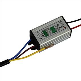Недорогие Светодиодные драйверы-jiawen 10w 1500ma привело электропитание ac85-265v алюминия привело постоянного тока адаптер адаптер трансформатора (DC 18-36v выход)