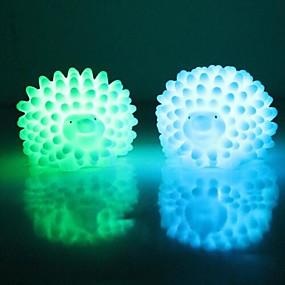 ieftine Lumini & Gadget-uri LED-1 buc LED-uri de lumină de noapte Baterie Rezistent la apă