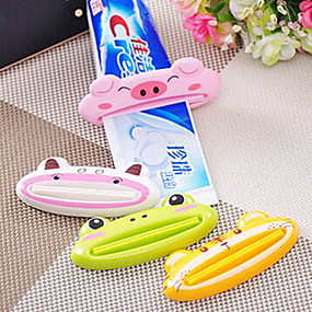 cheap Bathroom Gadgets-Toothbrush Holders Toilet / Shower Plastic Multi-function / Eco-Friendly / Travel / Gift