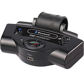 baratos Carros & Motos-Bluetooth carro kits built-in bateria mp3 player roda de direção porta-voz suporte portátil a2dp carregador de carro