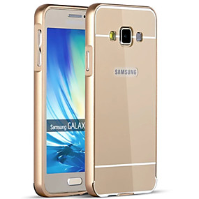 voordelige Galaxy A5(2016) Hoesjes / covers-hoesje Voor Samsung Galaxy A9(2016) / A7(2016) / A5(2016) Beplating Achterkant Effen Hard Acryl