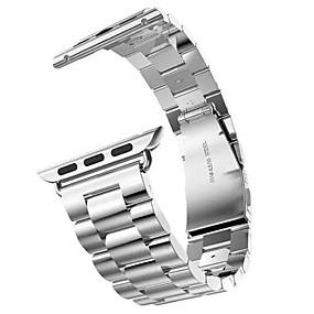 tanie HOCO-Watch Band na Apple Watch Series 3 / 2 / 1 jabłko Zapięcie motylkowe Stal nierdzewna Opaska na nadgarstek
