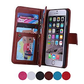 levne iPhone pouzdra-SHI CHENG DA Carcasă Pro iPhone 6s Plus / iPhone 6 Plus iPhone 6 Plus Celý kryt Pevné PU kůže pro iPhone 6s Plus / iPhone 6 Plus