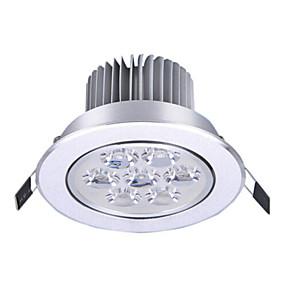 Недорогие Встраиваемые LED лампы-1pc 7w 7leds легко установить утопленные светодиодные потолочные светильники привели downlights теплый белый холодный белый 85-265v дом / офис