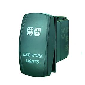 billige Strømafbryder-iztoss 5pin laser førte arbejde lys vippekontakt on-off LED lys 20a 12v blå med ledninger til at installere