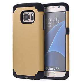 voordelige Galaxy S7 Hoesjes / covers-hoesje Voor Samsung Galaxy S8 / S8 Edge / S7 edge plus Schokbestendig Bumper Effen PC