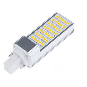 abordables Luces LED de Doble Pin-6.5 W Luces LED de Doble Pin 750-800 lm E14 G23 G24 T 35 Cuentas LED SMD 5050 Decorativa Blanco Cálido Blanco Fresco 100-240 V 220-240 V 110-130 V / 1 pieza / Cañas