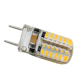 billige LED-lamper med G-sokkel-3 W LED-lamper med G-sokkel 250-300 lm G8 T 48 LED Perler SMD 3014 Dekorativ Varm hvid Kold hvid 110-130 V / 1 stk.