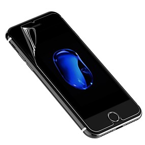 abordables Protections Ecran pour iPhone 7 Plus-Protecteur d'écran pour Apple iPhone 7 Plus PET 1 pièce Ecran de Protection Avant
