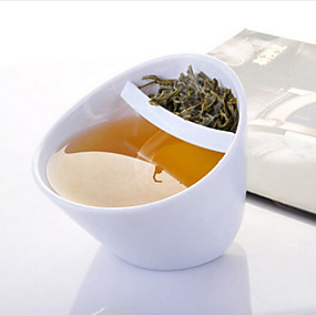 Недорогие Всё для кухни и столовой-творческая чашка чая наклона кружки наклона с фильтром magisso наклонный пластмассовый падать умная чашка