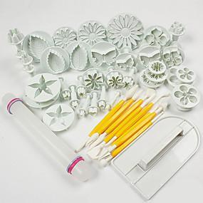 ieftine Bucătărie & Masă-ABS decorare tort Instrumentul de coacere Modă Tort Biscuiți Cupcake Instrumentul de patiserie Instrumente de coacere